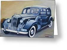 Packard 1940 Greeting Card