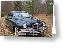 Packard 2 Greeting Card