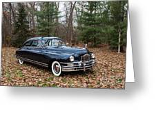 Packard 3 Greeting Card