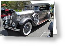 Packard Dietrich Side View Greeting Card