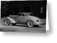 Packard Eight Greeting Card