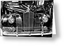 Packard Motor Car Greeting Card