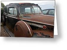 Packard One-eighty Greeting Card