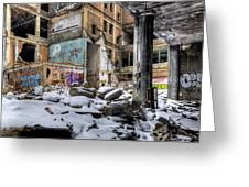 Packard Plant Detroit Michigan - 11 Greeting Card