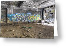 Packard Plant Detroit Michigan - 8 Greeting Card