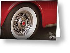 Packard Wheel Greeting Card