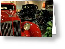 Packards Greeting Card