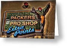 Packer Pro Shop Greeting Card