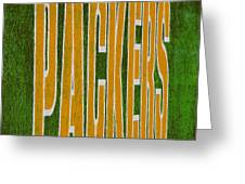 Packers Greeting Card