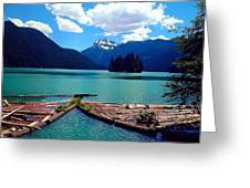 Packwood Lake Greeting Card