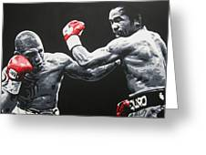 Pacman V Cotto Greeting Card