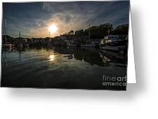 Padstow Dusk  Greeting Card
