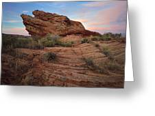 Page Sunrise Rock Greeting Card