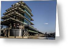 Pagoda And The Pits Greeting Card