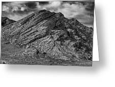 Pahranagat Mountains Greeting Card