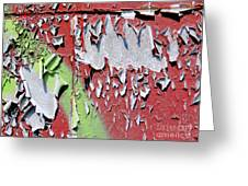 Paint Abstract Greeting Card