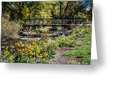 Paint Creek Bridge Greeting Card
