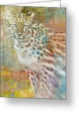 Paint Me A Cheetah Greeting Card