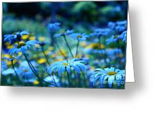 Paint Me Blue Greeting Card