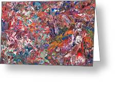 Paint Number 50 Greeting Card by James W Johnson