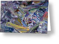 Paint Number 57 Greeting Card by James W Johnson