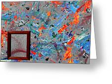 Paint Number Forty Greeting Card
