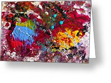 Paint Party Greeting Card