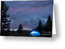 Paint The Sky With Stars Greeting Card