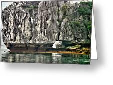 Paint Vietnam Rock Greeting Card