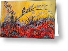 Paintbrush Astray Greeting Card