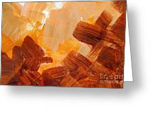Painted Background Texture Greeting Card