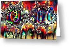 Carnival Dancers Greeting Card
