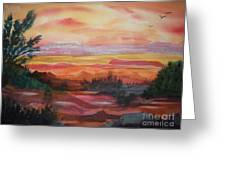 Painted Desert II Greeting Card