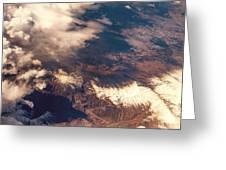 Painted Earth IIi Greeting Card