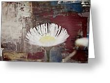Painted Flower Greeting Card