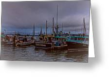 Painted Harbor Greeting Card