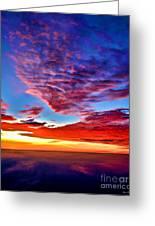 Painted Heavens Greeting Card
