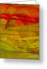 Painted Hills 9 Greeting Card