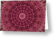 Painted Kaleidoscope 12 Greeting Card