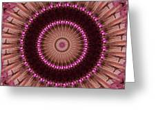 Painted Kaleidoscope 14 Greeting Card