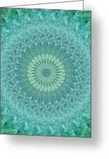 Painted Kaleidoscope 4 Greeting Card