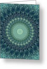 Painted Kaleidoscope 6 Greeting Card