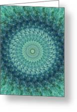 Painted Kaleidoscope 7 Greeting Card