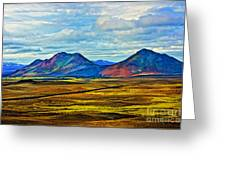 Painted Mountain Greeting Card