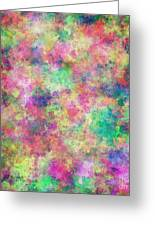 Painted Pixels Greeting Card