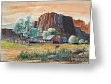 Painted Ranch Greeting Card