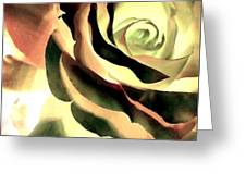 Painted Rose 1 Greeting Card