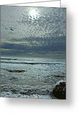 D3a6136-painted Sky Bolinas Ca  Greeting Card
