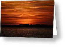 Painting In The Sky Greeting Card