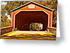 Painting Memories Greeting Card